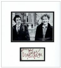 Malcolm McLaren Autograph Signed Display - Sex Pistols